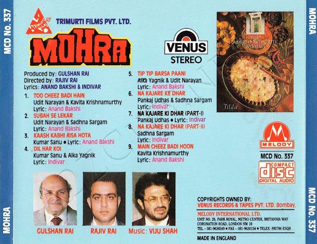 Download Mohra [1994-MP3-VBR-320Kbps] Review