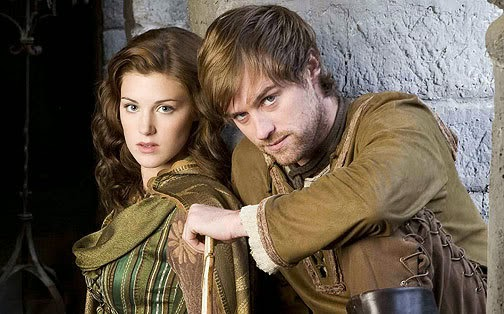 Picture of BBC's Robin Hood - Marian and Robin Hood