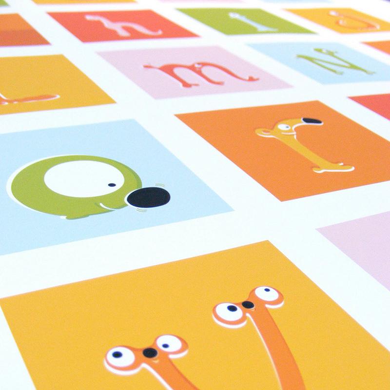 Alfabetika Whimsical Posters That Brighten Up Children S