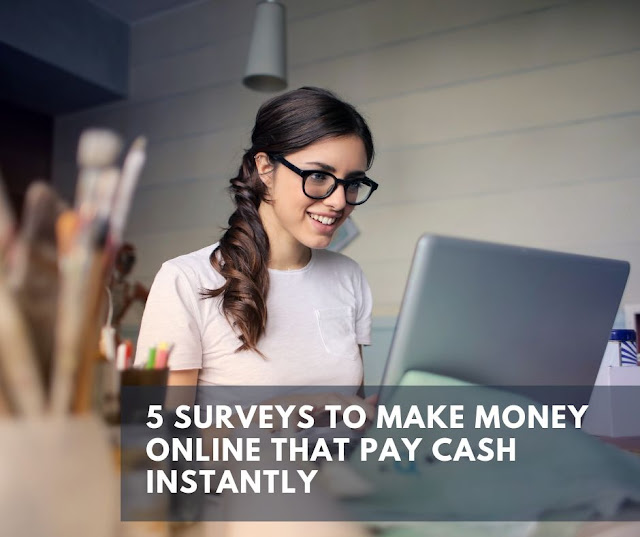 5 Surveys that make you money online