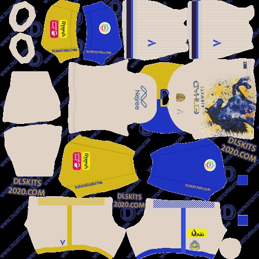 512x512 Al Nassr FC Saudi Kits