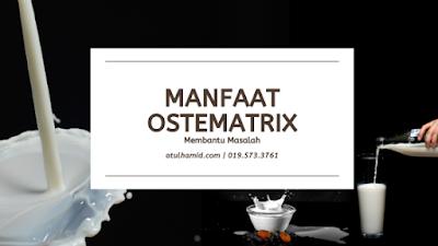 Manfaat OsteMatrix: Membantu Masalah