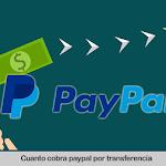 Cuanto cobra PayPal por una transferencia