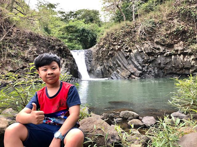 Prince at Dunsulan Falls