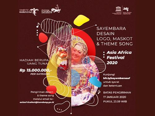 Sayembara Desain Maskot Asia Africa Festival 2020