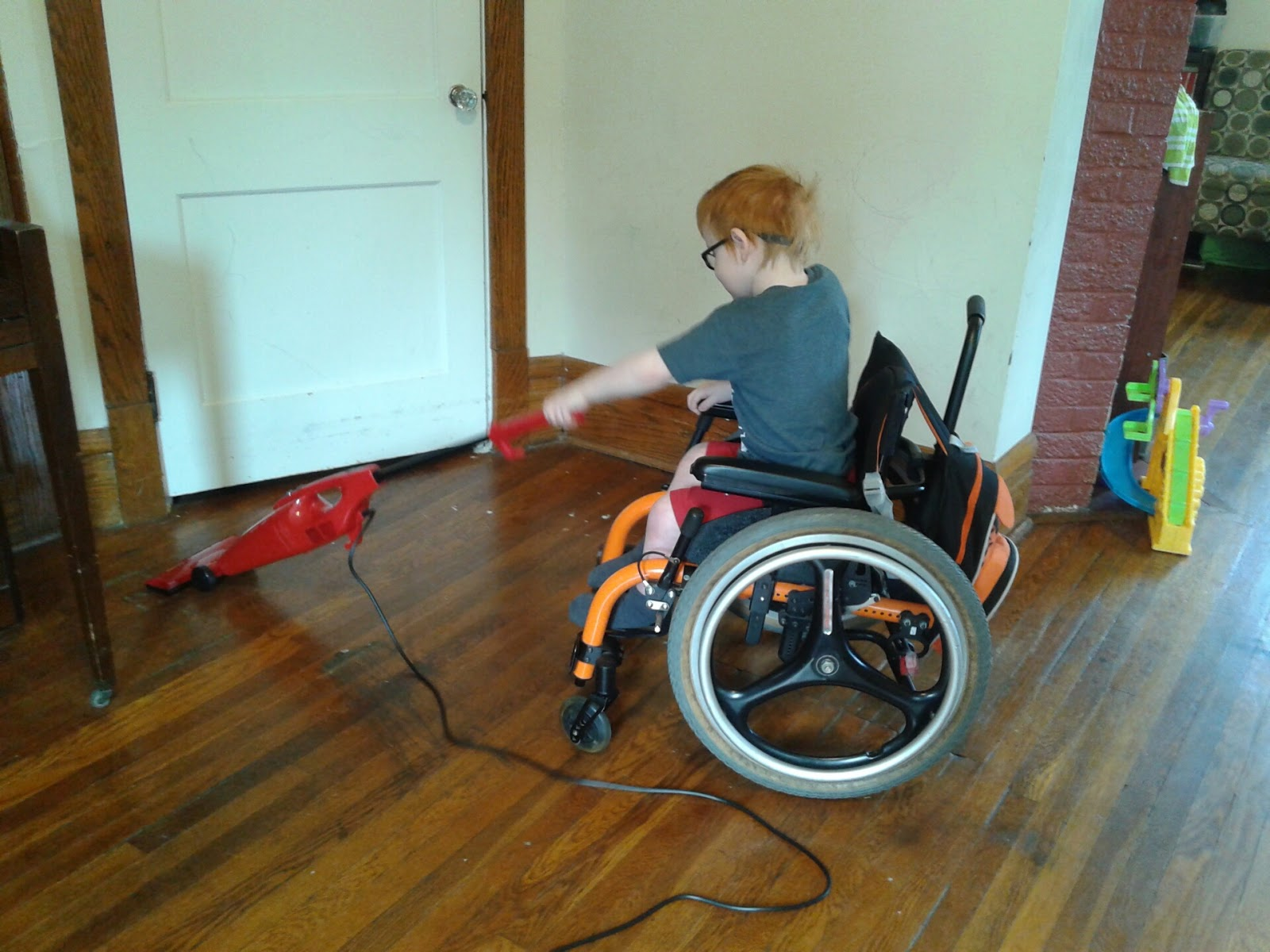 Toys For Spina Bifida : Mason s spina bifida journal vacuuming stander time and
