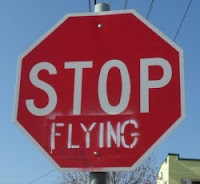 Stop flying: a sign of the times?