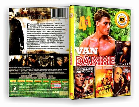 DVD Coleção - Van Dame - Vol.2 - 4 em 1 - ISO