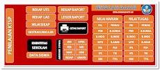 Aplikasi Olah Nilai UTS, UAS Plus Cetak Raport KTSP Format Excel.Xlsx