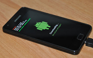 Proses Flashing SamsunA3