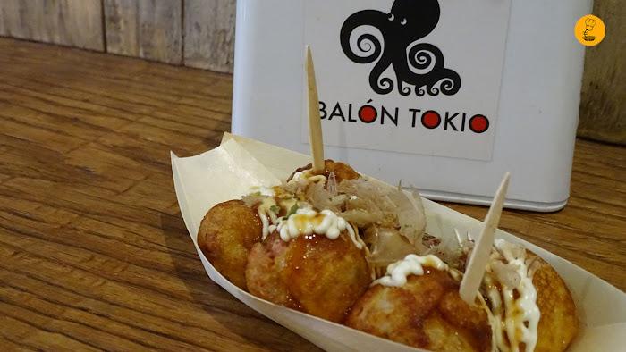 Takoyakis en Balón Tokio