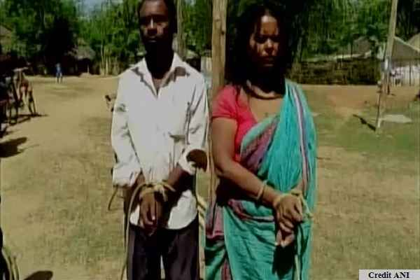 male-and-female-tied-by-villagers-for-illicit-relationship-in-odisha