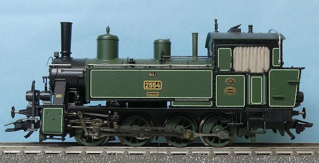 王立バイエルン邦有鉄道 K.Bay.Sts.B. 支線用蒸気機関車 GtL 4/4 2554 ...