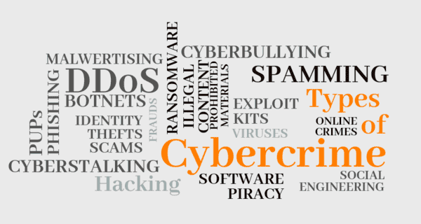 Types of Cybercrime - www.tutorialsmate.com