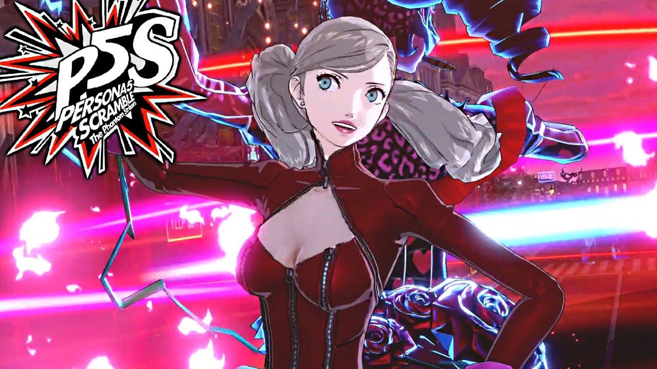 Persona 5 Strikers - Ann Takamaki Guide