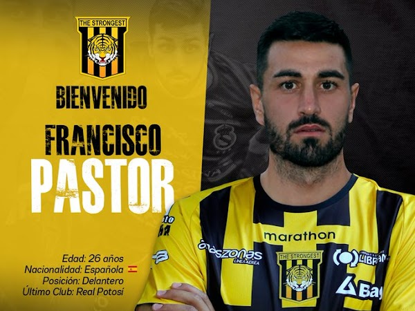 Oficial: The Strongest, firma Fran Pastor