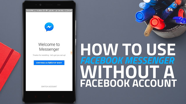 Now, without a Facebook profile, you can not create a messenger account #Aticle