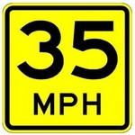 advisory speed in spanish
