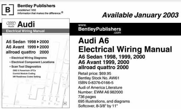 AUDI A6 ELECTRICAL WIRING MANUAL - Wiring Diagram Service Manual PDF | Audi A6 Wiring Diagram Download |  | Wiring Diagram Service Manual PDF - blogger