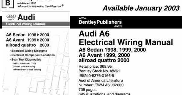 Audi A6 Electrical Wiring Manual