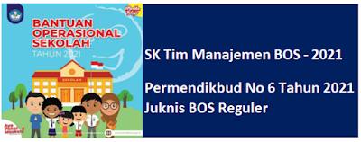 SK TIM BOS Reguler Tahun 2021