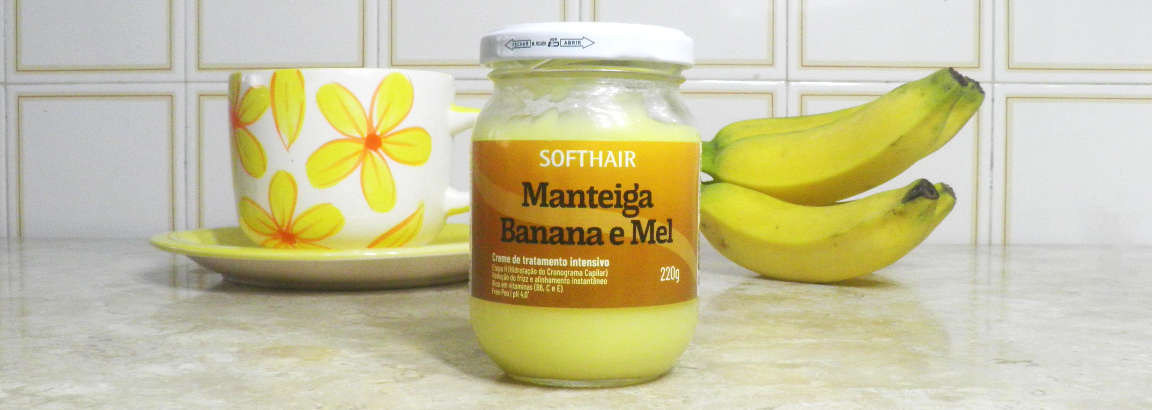 Ingredientes da Composição da Máscara Manteiga Soft Hair Banana e Mel