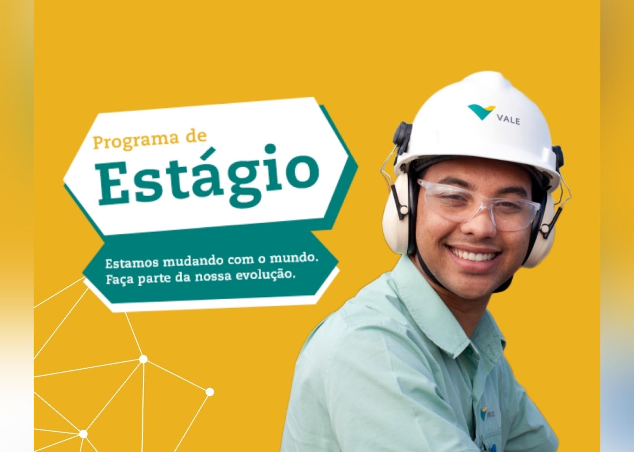 Vale abre 900 vagas de estágio em diversas localidades do país - Portal Pebão  veja clicando no link abaixo! https://www.portalpebao.com.br/2021/06/vale-abre-900-vagas-de-estagio-em.html?m=1