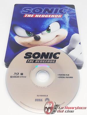 Sonic Steelbook Cover