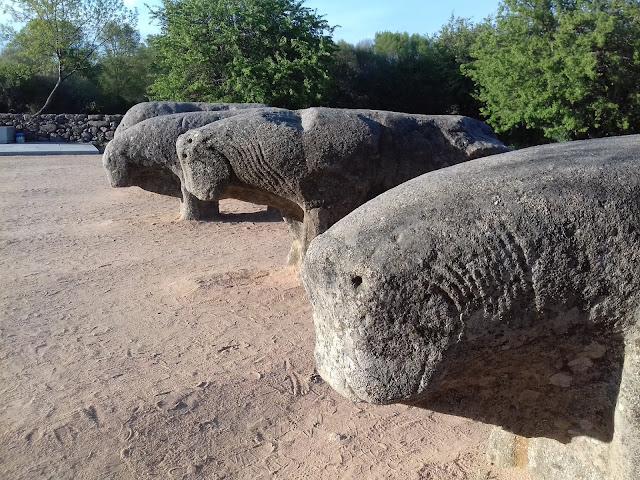 Toros de Guisando. Ávila.