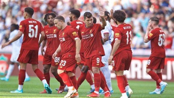 تعرف على مواعيد خمس مباريات لـ ليفربول فى شهر اغسطس
