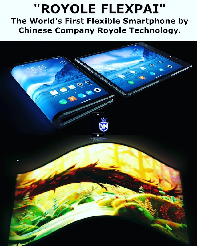 World's First Foldable Android Pie Smartphone