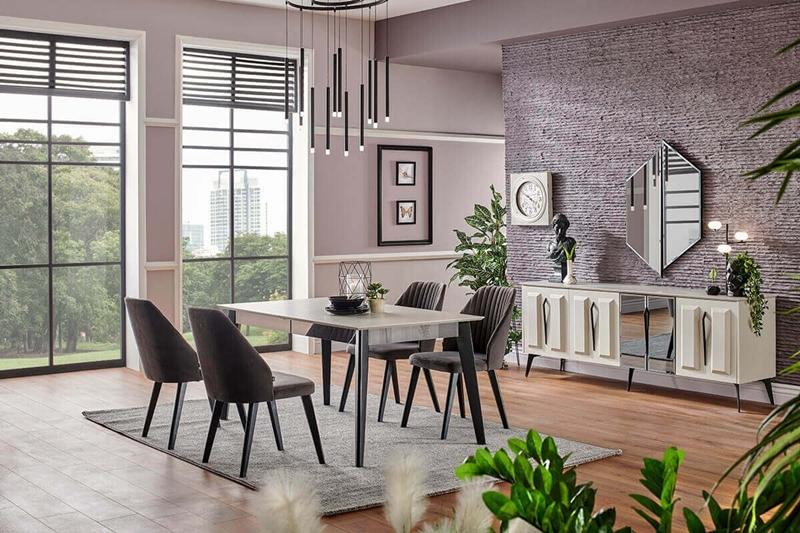 Salonlarınızın Stiline Uygun Yemek Masası Takımları