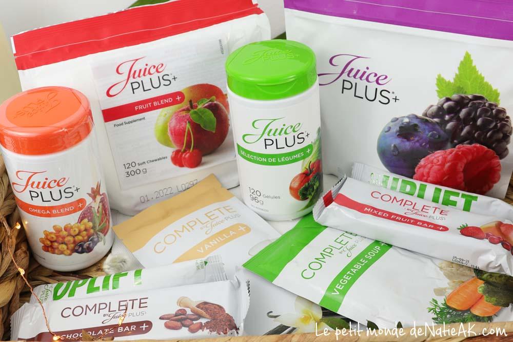 Les fruits et les légumes en gélules