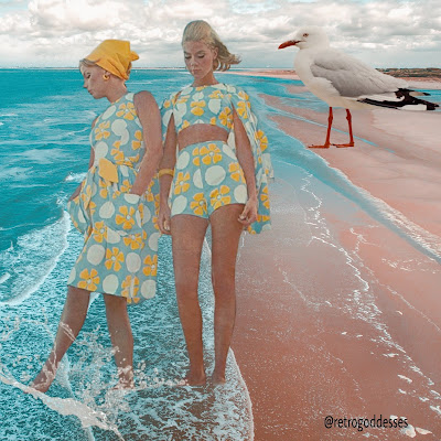 Life's A Beach by Rachel Hancock @retrogoddesses