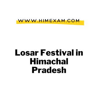 Losar Festival in Himachal Pradesh