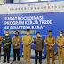 Wawako hadiri Rakor TP2DD se Sumatera Barat Semester II Tahun 2021