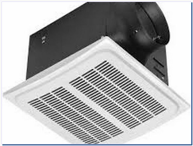 Thermostat Controlled Ceiling Exhaust Fan