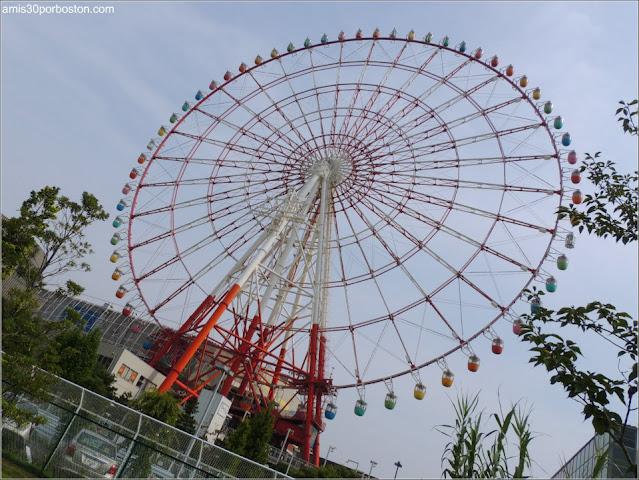 Noria (Daikanransha) en Odaiba, Tokio