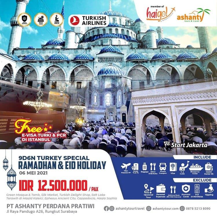 tour turki 2021 murah dari surabaya dan jakarta