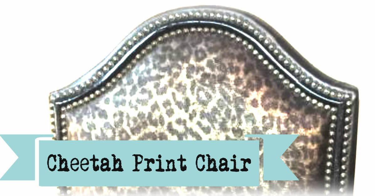 Buy Here Pay Here Okc >> Listed: Purrfectly Posh Cheetah Print Chair— $180 ...