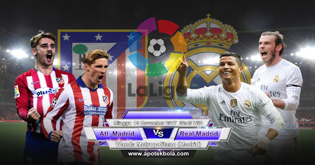Atletico Madrid vs Real Madrid 19 November 2017