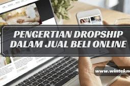 Pengertian Dropship Dalam Jual Beli Online (Online Shop)
