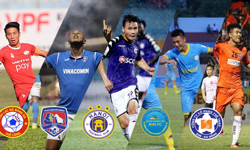 Lịch bóng đá vòng 1 V-League 2019: Chờ luồng gió đội tuyển