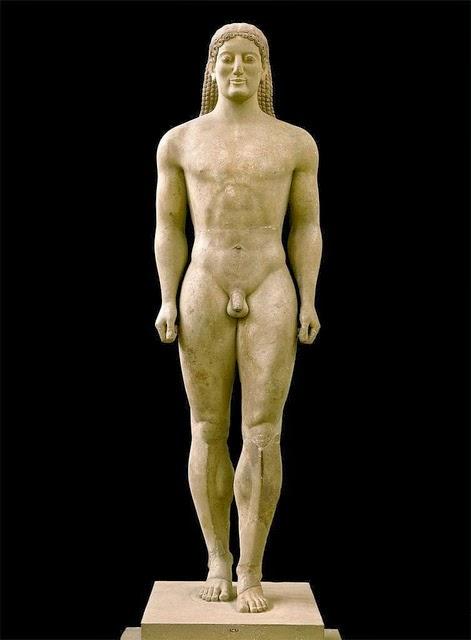 Kouros de Anavyssos. Comentario y análisis