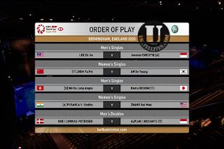 HSBC BWF World Tour Super 1000 Yonex All England AsiaSat 5 Biss Key 11 March 2020