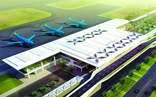 Phối cánh sân bay tại Quảng Trị