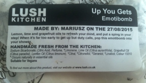 LUSH Up You Gets emotibomb
