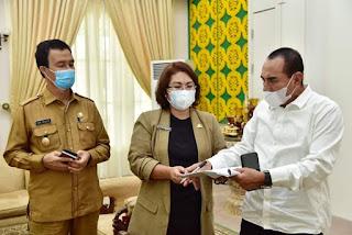 Kepulauan Nias Membaik, Gubernur Edy Alihkan Penanganan Covid-19 ke Satgas Kabupaten/Kota
