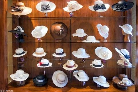 Exposición.de sombreros de Paja Toquilla. 1a9cab792b4