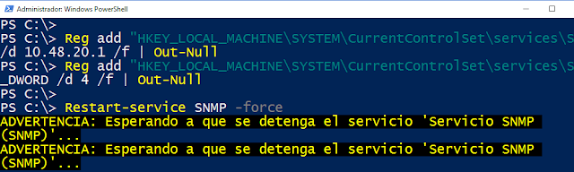 PRTG: Windows Server, instalar y configurar SNMP